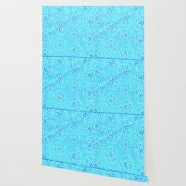 Turquoise Petal Rose Wallpaper