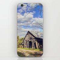kentucky iPhone & iPod Skins featuring Kentucky Barn by JMcCool