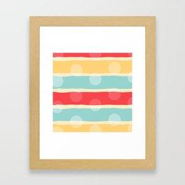 Dreaming lines Framed Art Print