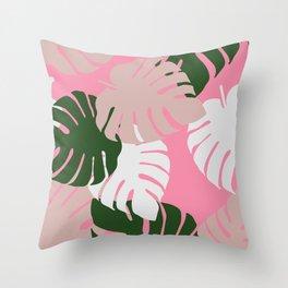 Camo Palm No.7 Throw Pillow