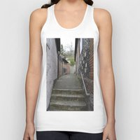 winchester Tank Tops featuring Winchester Alley by Ashley Callan