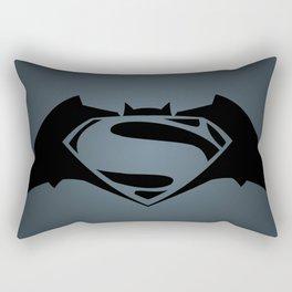 BvS Dawn Of Justice - BLUE Rectangular Pillow