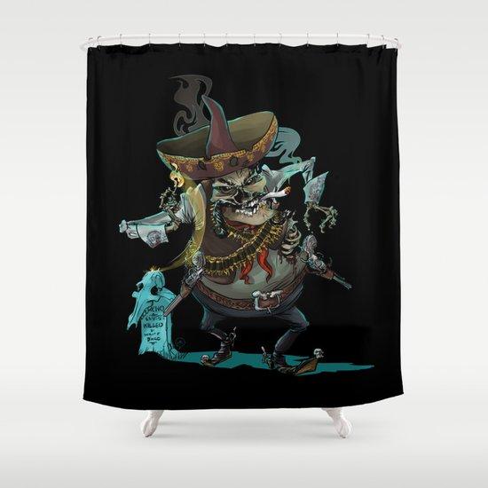 Dia De Los Muertos Shower Curtain By Mitt Roshin Society6
