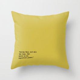 screws fall out Throw Pillow
