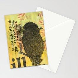 Bird illustration Stationery Cards