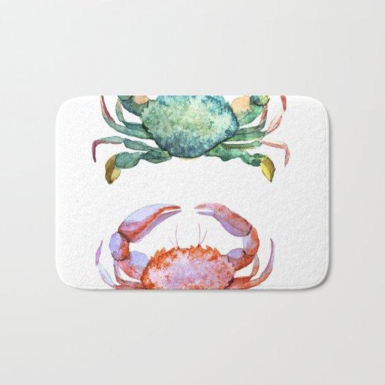 Colorful Crabs Bath Mat
