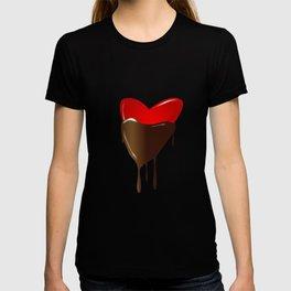 Chocolate Dipped Heart T-shirt