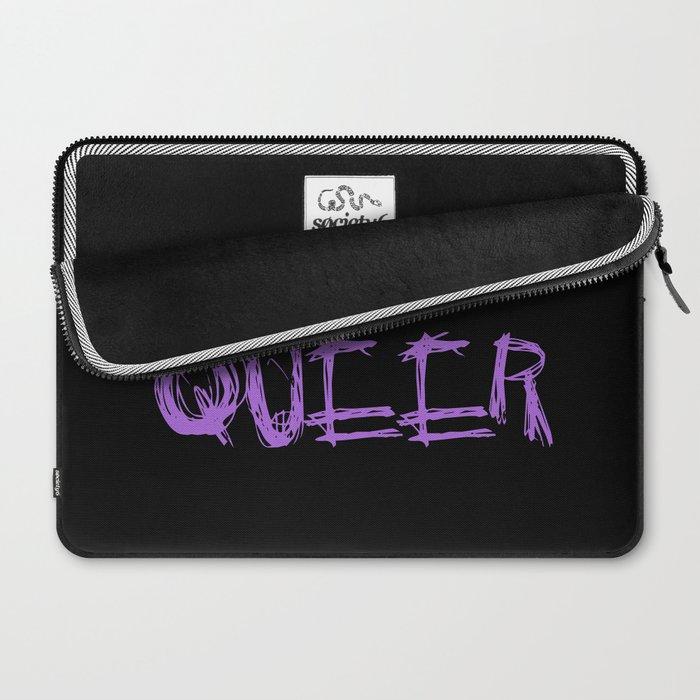 My Gender Is: QUEER Laptop Sleeve