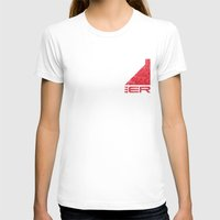 n7 T-shirts featuring N7 Engineer by Draygin82