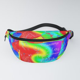 Friendship Love Kindness Fanny Pack