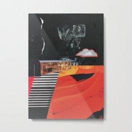 Dusk in the Flats Metal Print