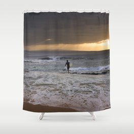 The Art Of Surfing In Hawaii 49 Shower Curtain