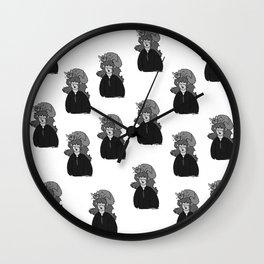Hermione and Crookshanks  Wall Clock