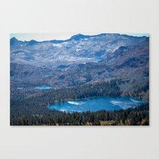 Mountain Top Lakes Canvas Print