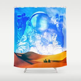 The Great Lesson Shower Curtain