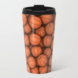 Basketballs Travel Mug