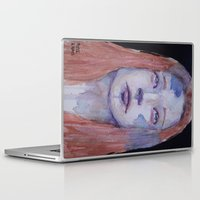redhead Laptop & iPad Skins featuring Redhead by SirScm