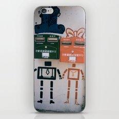 Boy and Girl  iPhone & iPod Skin