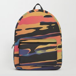 Trippy Dawntime Backpack