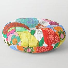 Foraging For Your Heart Floor Pillow