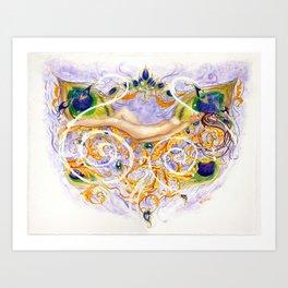 Dreaming Dryad Art Print