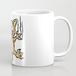FUNNY CAT Kitty Cats feral Cat Cartoon Comic gift Coffee Mug