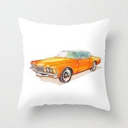1971 Riviera Throw Pillow