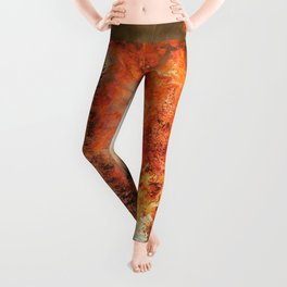 Fire Study #1 Leggings