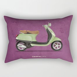 Vespa LXV Rectangular Pillow