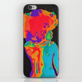 Title: Paint By Numbers #258: Fluorescent Feminist iPhone Skin
