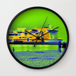 "GHOSTSHIP - Baltic Sea - ""VACANCY zine"" Wall Clock"
