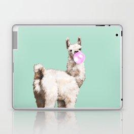 Baby Llama Blowing Bubble Gum Laptop & iPad Skin