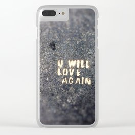 Love Again Clear iPhone Case