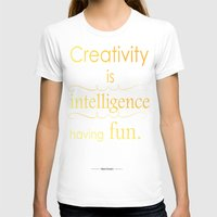 creativity T-shirts featuring Creativity by Cecilie