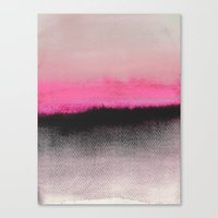 tumblr Canvas Prints featuring Double Horizon by Georgiana Paraschiv