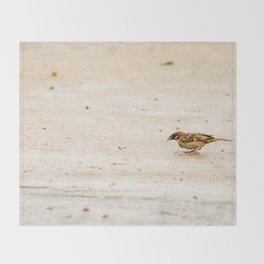 sparrow Throw Blanket