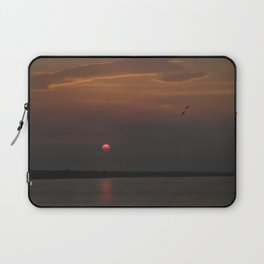 Red Sun Laptop Sleeve