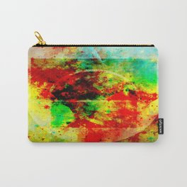 Subtle Form - Abstract colour painting Carry-All Pouch