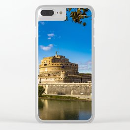 Castel Sant'Angelo Clear iPhone Case