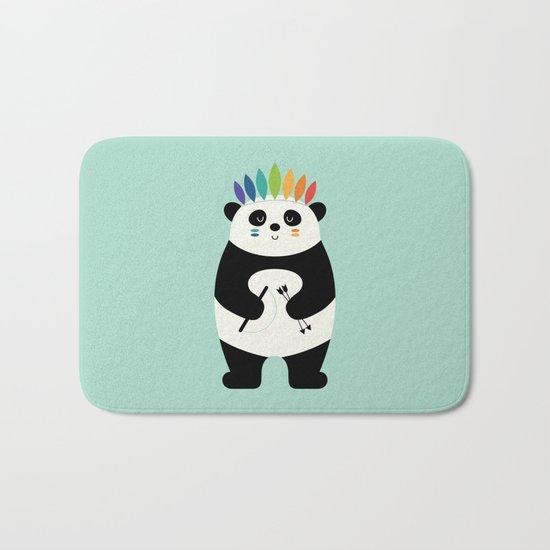 Be Brave Panda Bath Mat
