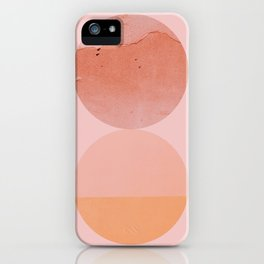 Abstraction_Circles_ART_Minimalism_001 iPhone Case