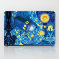 fandom iPad Cases featuring Blue Phone box Starry the night iPhone 4 4s 5 5c 6, pillow case, mugs and tshirt by Three Second