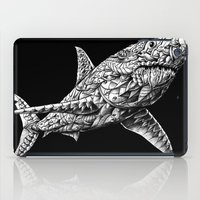 bioworkz iPad Cases featuring Great White by BIOWORKZ