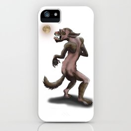 Hombre Lobo / Wolfman iPhone Case