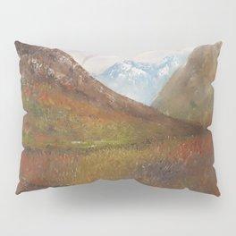 Arran, Scottish landscape by Lu Pillow Sham