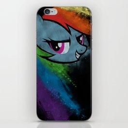A Dash of Rainbow iPhone Skin