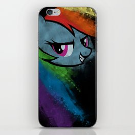 A Dash of Rainbow iPhone Skin