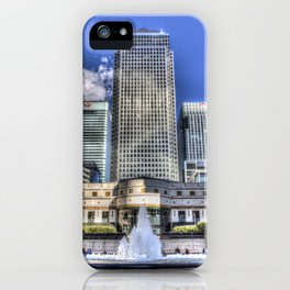 Cabot Square London iPhone Case