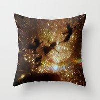peter pan Throw Pillows featuring Peter Pan by zeebee