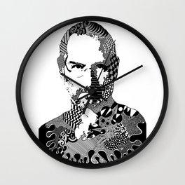 Steve Jobs Doodle Wall Clock
